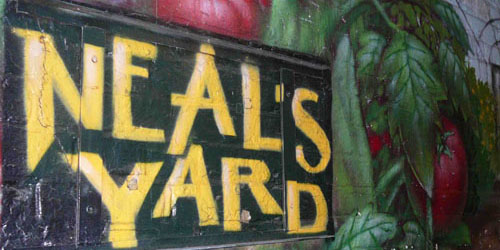 Neal's Yard wall