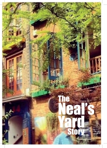 The front cover of The Neal's Yard Story. Read it here or at the Kindle store!